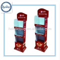 High Quality Cardboard Floor Display For Spice/Paper Display Stand/Retail Floor Display