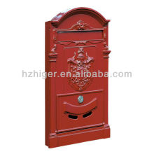 European and American retro cast iron fence mailbox for sale