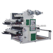 YT-2600 Two Colors Plastic film roll to roll banner printing machine