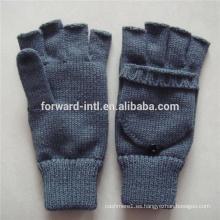 guantes tejidos de mujer