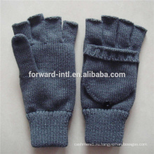 трикотажные женские перчатки