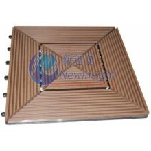 305 * 305 * 22 WPC Decking Fliese mit CE & Fsc Zertifikat