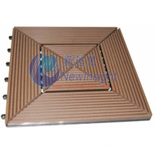 305*305*22 WPC Decking Tile with CE & Fsc Certificate