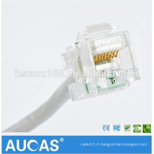 Transparent Color Cat5e Keystone Jack UTP Lan Cable Connect Jack RJ45 Cat5e