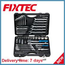 Fixtec 76PCS Chrom Vanadium Stahl Socket Werkzeug Set