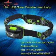 Lampe rechargeable à LED Led à 800 lumens Batterie rechargeable à levier léger à bicyclette
