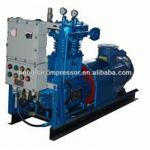 Compressor centrífugo do biogás do compressor de turbina 90Kw 5Mpa da modelação do sopro do ANIMAL DE ESTIMAÇÃO de Ingersoll
