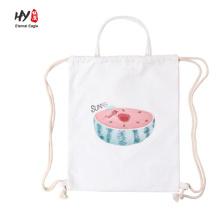 Günstige Promotion Leinwand Rucksack Tasche