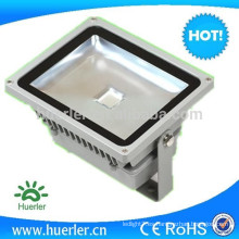 Lúmenes altos AC100-240v ip65 al aire libre 30w rgb proyector de la luz de inundación rgb llevado con teledirigido o dmx
