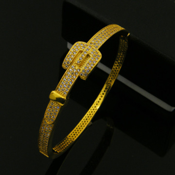 Bransoletka Zircon Diamond Gold Belt Copper Band Party