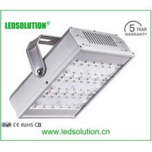 Conductor de Meanwell de la lámpara del túnel de 120W LED, lámpara del túnel del uso al aire libre IP66 con el CE, UL, certificado de RoHS