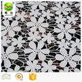 Embroidered lace wedding dress cotton fabric in bulk