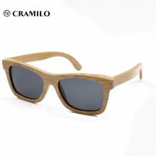 2018 große klassische uv400 Bambus polarisierte Sonnenbrille
