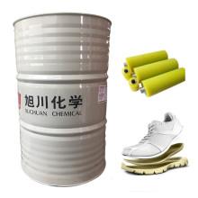 Gießen von Polyurethanharzen für Spezialsohlenrohstoffe