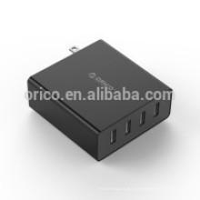 ORICO cargador de pared USB de 4 puertos (DCW-4U)