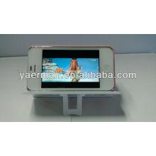 Mini Altavoz Potable para iPhone, soporte para altavoz móvil