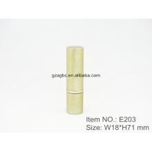 Retro & Elegant Aluminium zylindrisch Lippenstift Rohr Container E203, size12.1/12.7,Custom Tassenfarbe