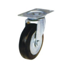 Industrial Black Rubber Light Caster