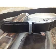 Men Ratchet Leather Belt (A5-140702)
