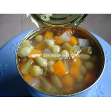 Canned Mixed Vegetables 5 Kinds Mixed ISO22000 HACCP Halal