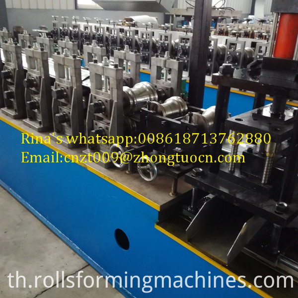 gear box transmission shutter door roll forming machine 12
