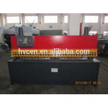 QC11Y cizalla guillotina hidráulica máquina qc11y-6 * 2500