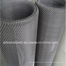 Engranzamento de fio de aço inoxidável frisado