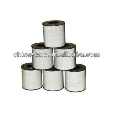 Verschiedene Breite, silberne oder graue Farbe Reflektierendes Garn