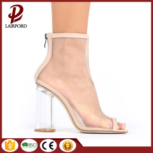 open toe Fashionable mesh fabric sandals