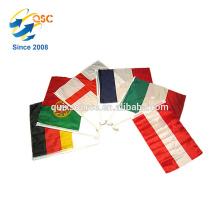 Fábrica direta variedade cor preço barato personalizado mini bandeiras todos os países