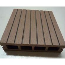 WPC Decking, Revêtement de sol extérieur, bois et plastique Composite Decking