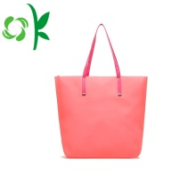 Durable Women Jelly Silicone Beach Outdoor Shopping Bag