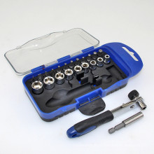 High Quanlity Ratcheting Drive Handle Multi Socket Set