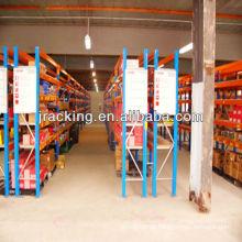 estantes de tienda de hierro, estantes de almacén usados estantes de estantes desmontables