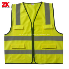 ANSI/ISEA 107  multi-pockets reflective safety vest