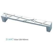 Poignée d'armoire de meuble en alliage de zinc (21407)