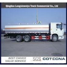 Qingdao HOWO 8X4 32cbm camión cisterna de aceite
