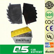 Placa de bateria para bateria de carro de carga seca, bateria de chumbo-ácido, célula de bateria de chumbo, positiva e negativa, placa seca