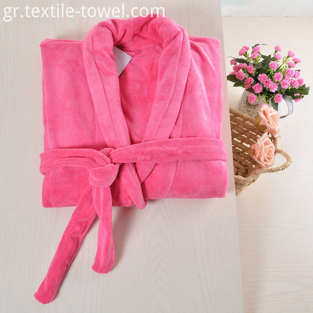Plush Robe For Women