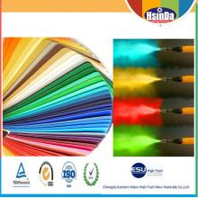 Estándar Ral Color Poliéster Tgic Recubrimiento en Polvo Libre Recubrimiento