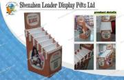 Seven Tiers Paper POS Display Stands For Children Book Stor