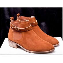 Zapatos de mujer de cuero de vaca de venta caliente