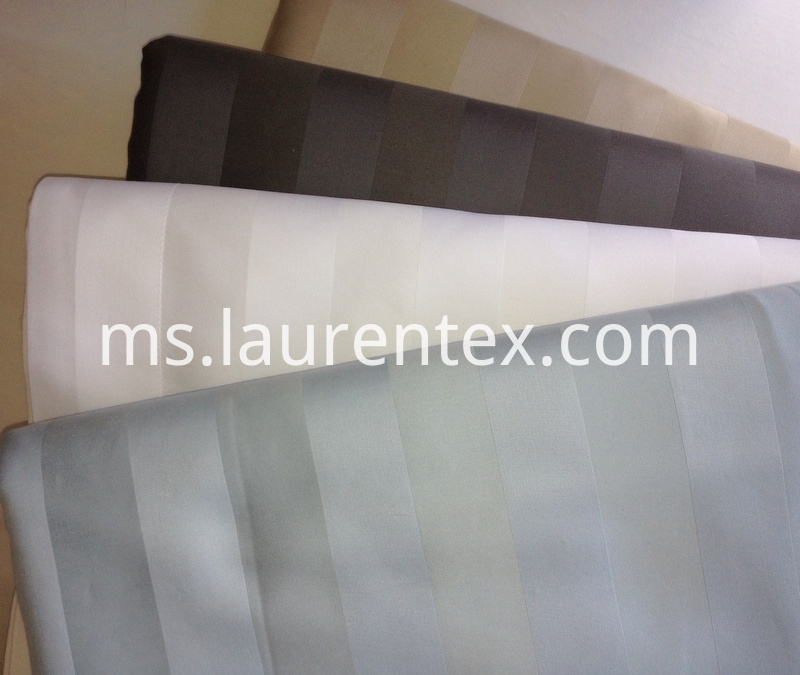 cotton sateen stripe sheets