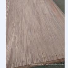 visage en bois naturel placage jaune Couleur placage bois placage PLB dans l'usine de Linyi