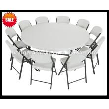 Mesa dobrável de 6 pés, mesa de banquete