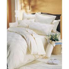 100% coton 30 * 30 76 * 68 tissu blanc drap de lit tissu