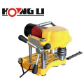 Electric pipe hole making machine