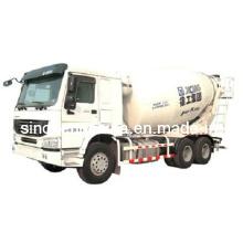 Caminhão resistente do misturador de cimento de XCMG 12m3 / caminhão de mistura / caminhão concreto Xzj5253gjb1 do misturador concreto (gás natural)