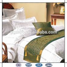 Echarpes et couloirs de lit king-size de luxe King Size Jacquard Star