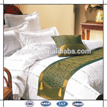 Luxo King Size Jacquard Star Bed Bed Scarves e corredores